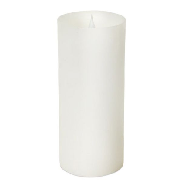 Light up your home with this realistic battery operated candle! They have a moving flame to give off a flickering look.