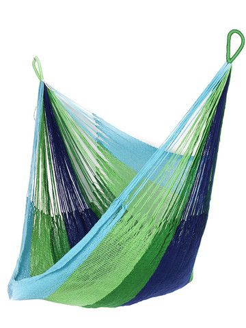 Lanta Hanging Chair from Yellow Leaf Hammocks... I want one!