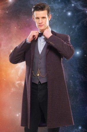 11th Doctor Purple Coat Small