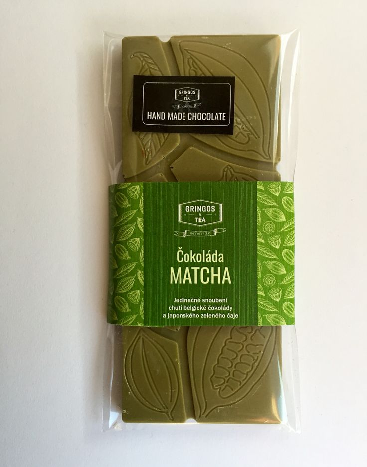 Matcha čokoládá Gringos & Tea