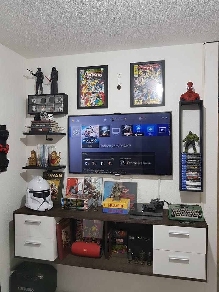 24 Best Setup Of Video Game Room Ideas A Gamer S Guide Small Game Rooms Room Setup Game Room Decor