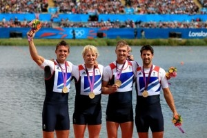Names: Alex Gregory, Andrew Triggs Hodge, Pete Reed and Tom James Sport: Rowing Position: Gold Another roaring - we mean rowing - success for Team GB after the quartet scored gold in the coxless men's fours.