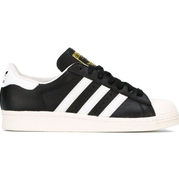Adidas Superstar 80s Sneakers ($107) ? liked on Polyvore featuring shoes,  sneakers,