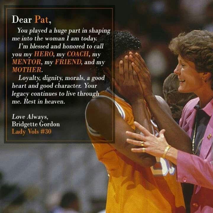 LVFL Bridgette Gordon's note to Pat