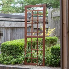 Coral Coast Halstead Wood Trellis - Give leggy flowers and climbing vines somewhere to go with the Coral Coast Halstead Wood Trellis. Craftsman-style construction and style paired with a...