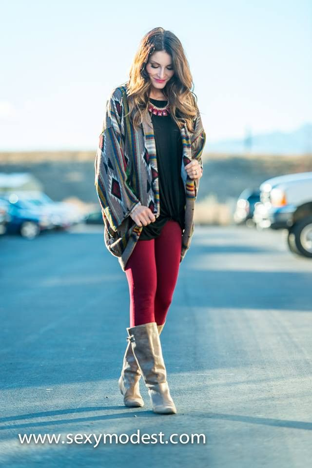 www.sexymodest.com Tribal Theme Sweater Cardigan | SexyModest Boutique #smbfaves