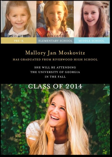 Class Navigation - Graduation Announcements in Black | simplyput by Ashley Woodman for Tiny Prints