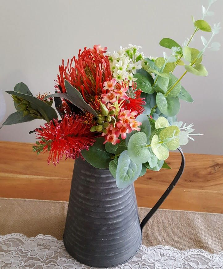 Table Flowers Artificial Australian Native Flower