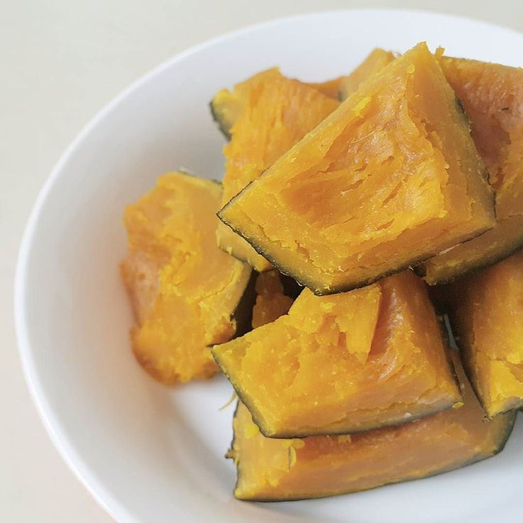 Today's breakfast  #단호박 #かぼちゃ  #甜南瓜 #sweetpumpkin  #veganfood #plantbased #wholefoods #pregnantfood #myfooddiary