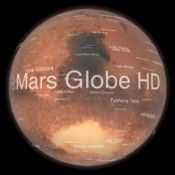 Mars Globe HD - Take a tour of the mysterious Red Planet. This virtual globe combines a high-resolution satellite map with laser altimeter data and advanced topographic lighting to present the planet Mars as it appears from above. An Introduction and Guided Tour present some of Mars' most intriguing features. You can leave the guided tour and explore Mars as you like; over 1500 surface features have been annotated with information and links.