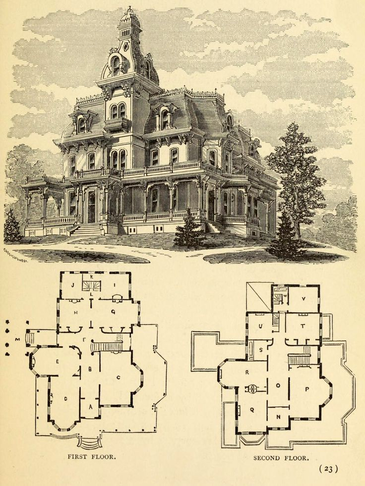 174 best floor plans images on pinterest | vintage houses