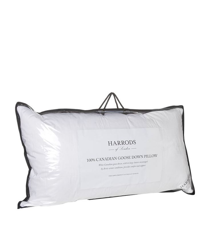 Homewares: Pillows Harrods of London 100% Canadian Goose Down Pillow (King Size)