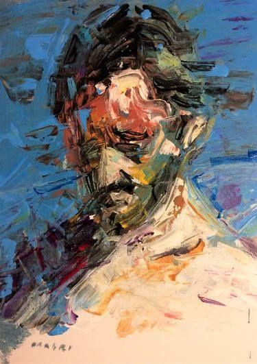 "Saatchi Art Artist Masri Hayssam; Painting, ""Life Reflection"" #art"
