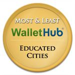 Most & least educated cities in the US - by WalletHub