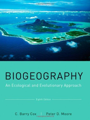 Biogeography: An Ecological and Evolutionary Approach de C. Barry Cox http://www.amazon.fr/dp/0470637943/ref=cm_sw_r_pi_dp_rCH.tb1QV3PVG