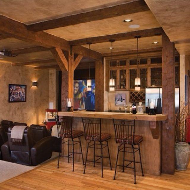 17 Rustic Home Bar Designs Ideas: 17 Best Images About BASEMENT IDEA'S & PAINT COLORS On