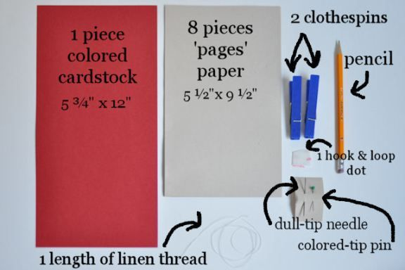 Sew a Book – A Project For Children