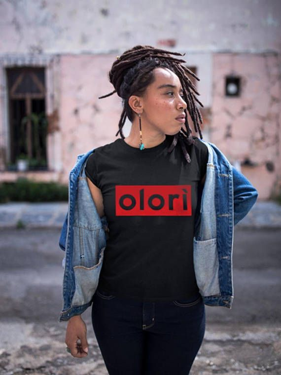 The Olori shirt is an awesome Yoruba shirt or Nigeria shirt or African queen shirt for every yoruba wife or lady/woman with a significant other. Olori is an yoruba word that means the head of, princess or queen. It is mostly used to refer to a mans wife since she his Queen  Available in