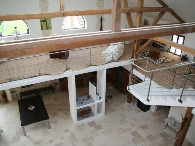 61 best grange à rénover images on Pinterest Barn, Bedrooms and - renovation electricite maison ancienne