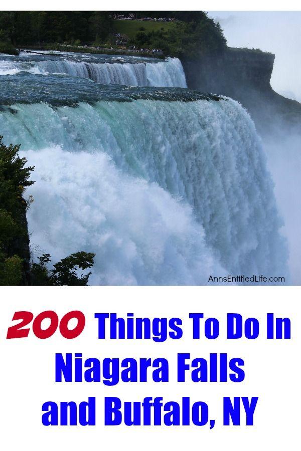 200 Things To Do In Niagara Falls and Buffalo, NY
