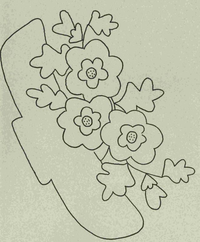 Wool Garden BOM - Wild Rose Pattern