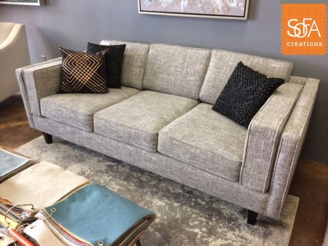 One Of Our New Models, The Montgomery, Is On Display In Our San Francisco  Showroom. Like Everything Else In Our Fabric Collection, It Is Customizable  To The ...
