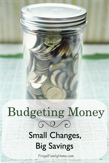 Does your budget need some help? Here's some small changes that can make a big difference.