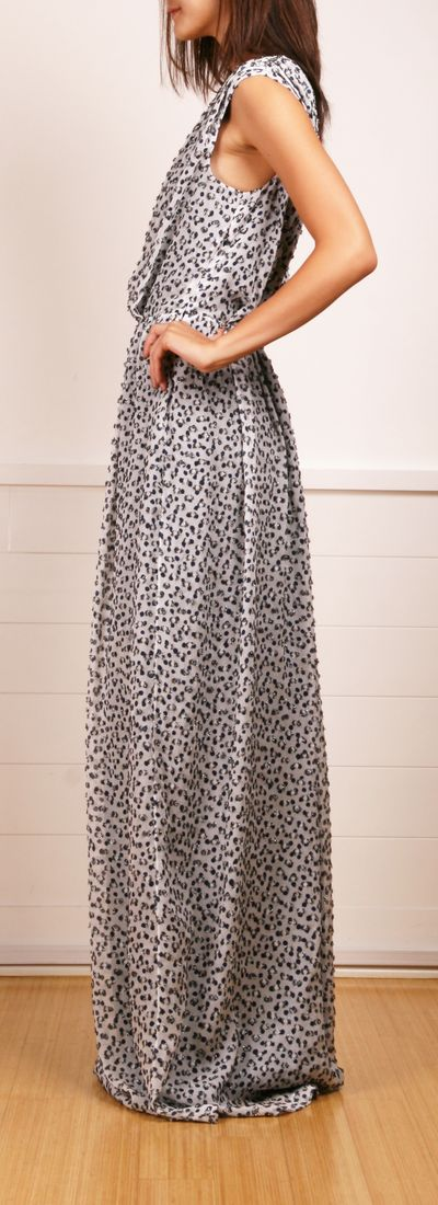 one-shouldered dress <3 fendi