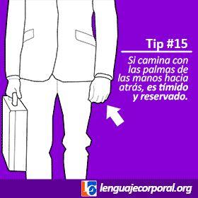 Galería de tips (11 al 20) | Página 2 de 4 | Lenguaje Corporal
