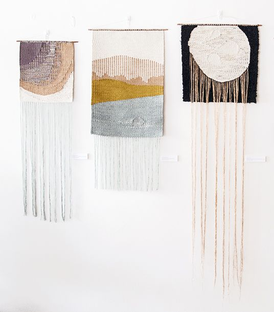 New weavings Lucy Poskitt