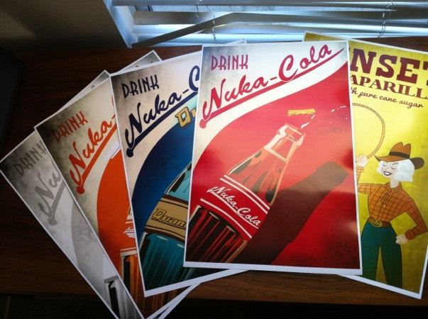 Fallout Print Collection by Laggy on Etsy. $68.00, via Etsy.