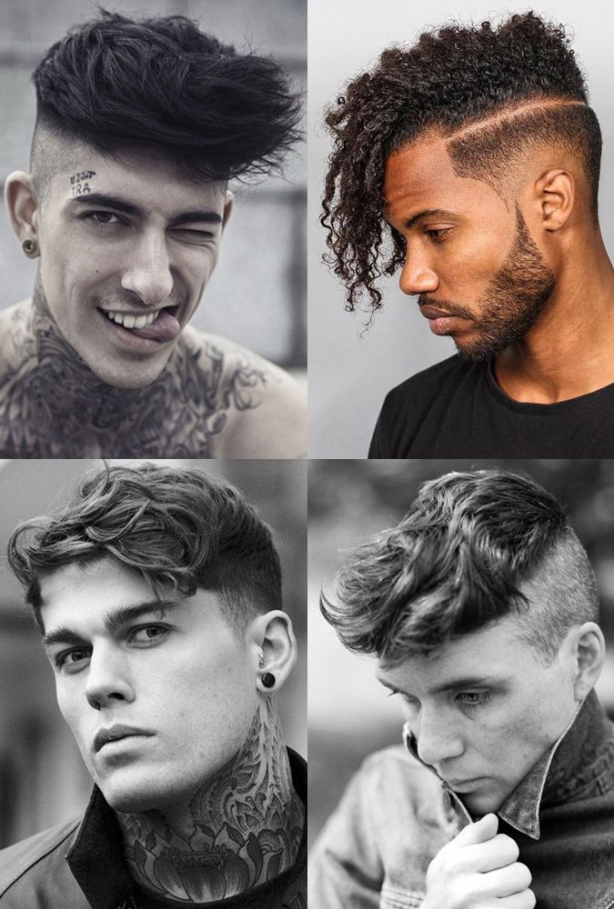 Men S Disconnected Undercut Hairstyles With Textured Length
