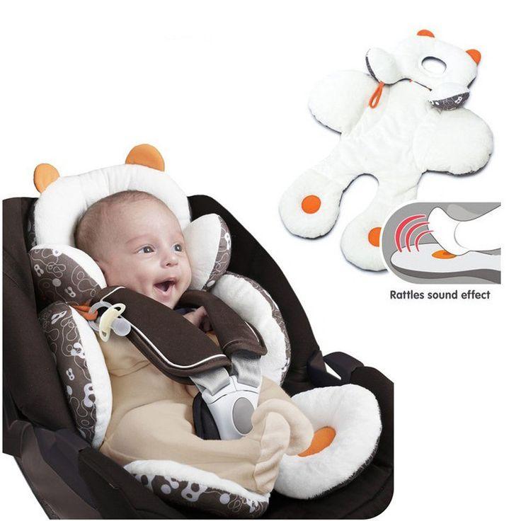新入荷しました赤ちゃん幼児幼児ヘッドサポートボディサポート用車のシートカバージョガーズボンベビーカーボディサポートクッションYYT170