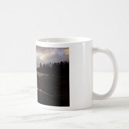 October Sky above the lakeshore Coffee Mug - fall decor diy customize special cyo