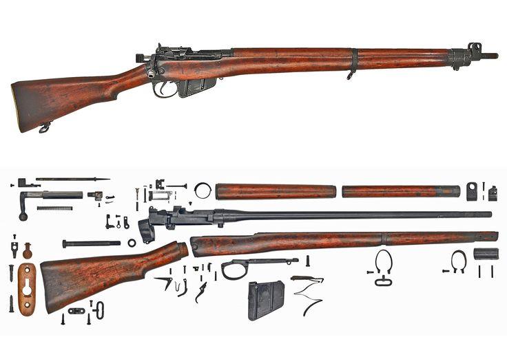 Lee-Enfield Rifle No.4 MkI