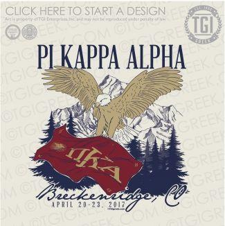 Pi Kappa Alpha | ΠKA | Pike | Formal | Formal Shirt | TGI Greek | Greek Apparel | Custom Apparel | Fraternity Tee Shirts | Fraternity T-shirts | Custom T-Shirts