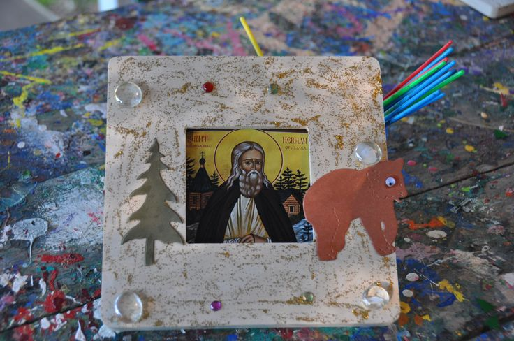 Crafts for Orthodox Youth:  Saint Herman of Alaska