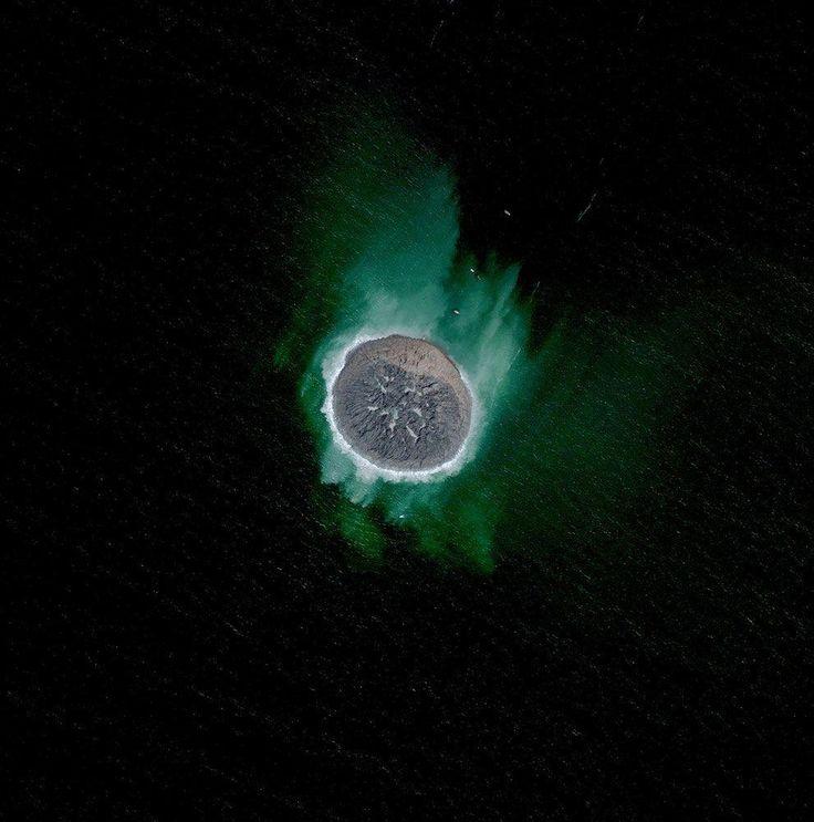 самые необычные фотографии со спутника фонтана