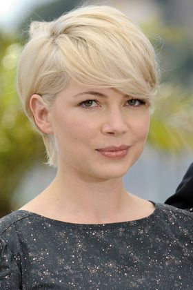 Ideally, my new short hair would be this color and I could style it like this... we'll try it throughout the summer