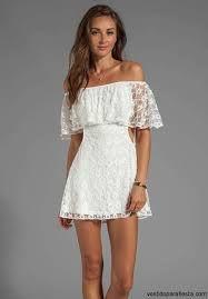 Resultado de imagen de vestidos blancos de fiesta