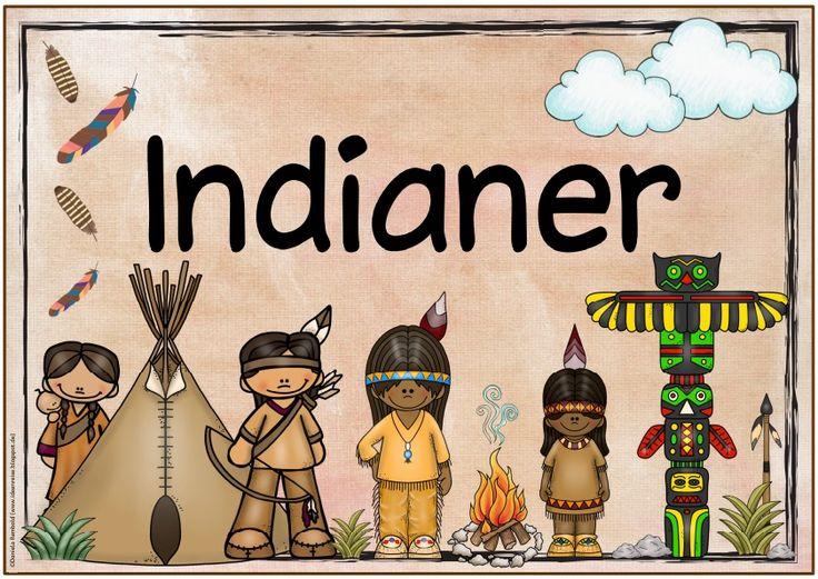 """Themenplakat """"Indianer"""" Auch dieses Plakat zum Thema """"Indianer"""" war ein Wunsch von euch. Weitere Plakate sind in Arbeit und folgen wie ..."""
