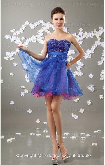 Organza Party Dance Dress