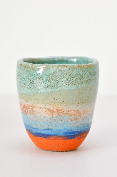 Shino Takeda - Tea Cup - Handmade in America - www.koromiko.com