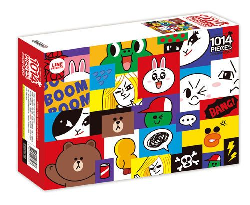 Naver Line Friends Characters 1014 pieces Toy Jigsaw Puzzles MOSAIC #LineFriends