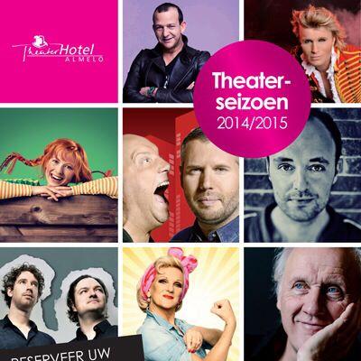 Op op te verheugen: theaterseizoen 14/15! #theater #almelo #najibamhali #hansklok# #vanderlaan&woe #tijlbeckand #rubenvandermeer #pipilangkous #tinekeschouten #nieksgeusebroek #hermanvanveen e.a.