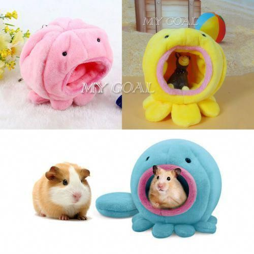 Small Pet Toy Warm House Cage Plush Bed For Rabbit Rat Hamster Parrot Squirrel Ebay Parrotpet With Images Pet Hammock Small Pets Hamster Bedding