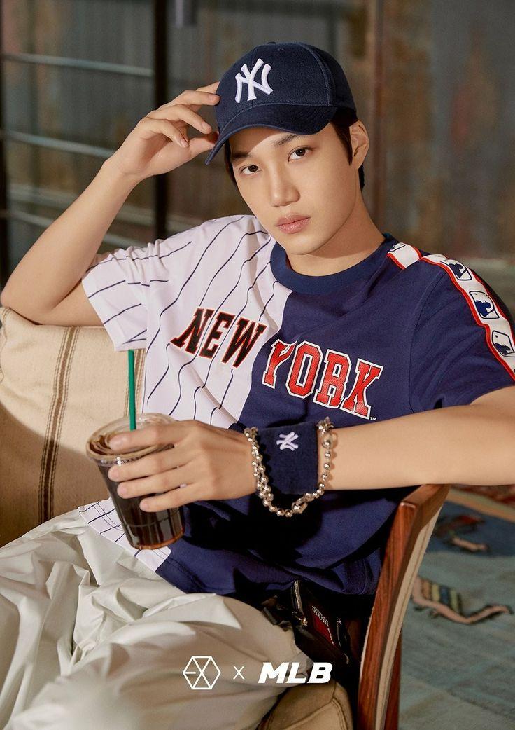 180313 #EXO #KAI @ MLB Official Website: < MLB X EXO >