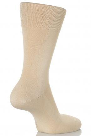 Falke Tiago Classic Fil d'Ecosse 98% Mercerised Cotton Mens Socks at SockShop.co.uk- FREE and FAST Delivery - FREE Returns - EASY Online Ordering - Falke Sock - Falke Mens Sock - Plain Sock - Fashion Sock - Falke Socks - Mens Black Socks - Big Foot Socks - Black Socks - Mens Pink Socks
