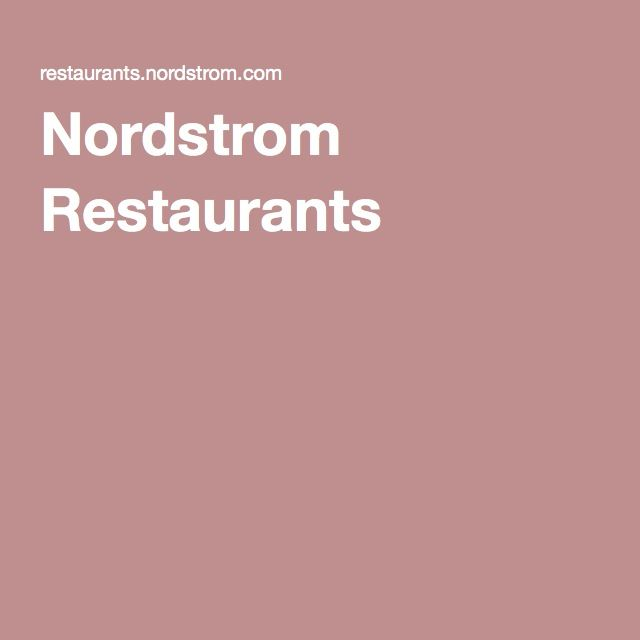 Nordstrom Restaurants Bazille downtown Rideau