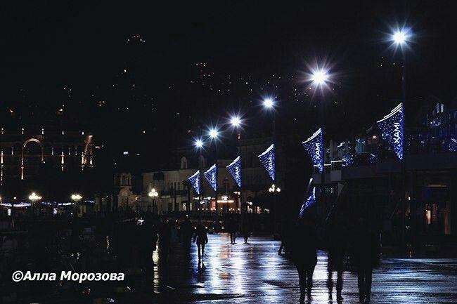 Набережная Ялты.Крым,Россия